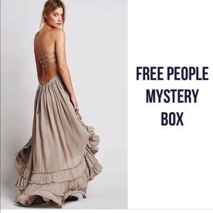 Free people mystery sock box
